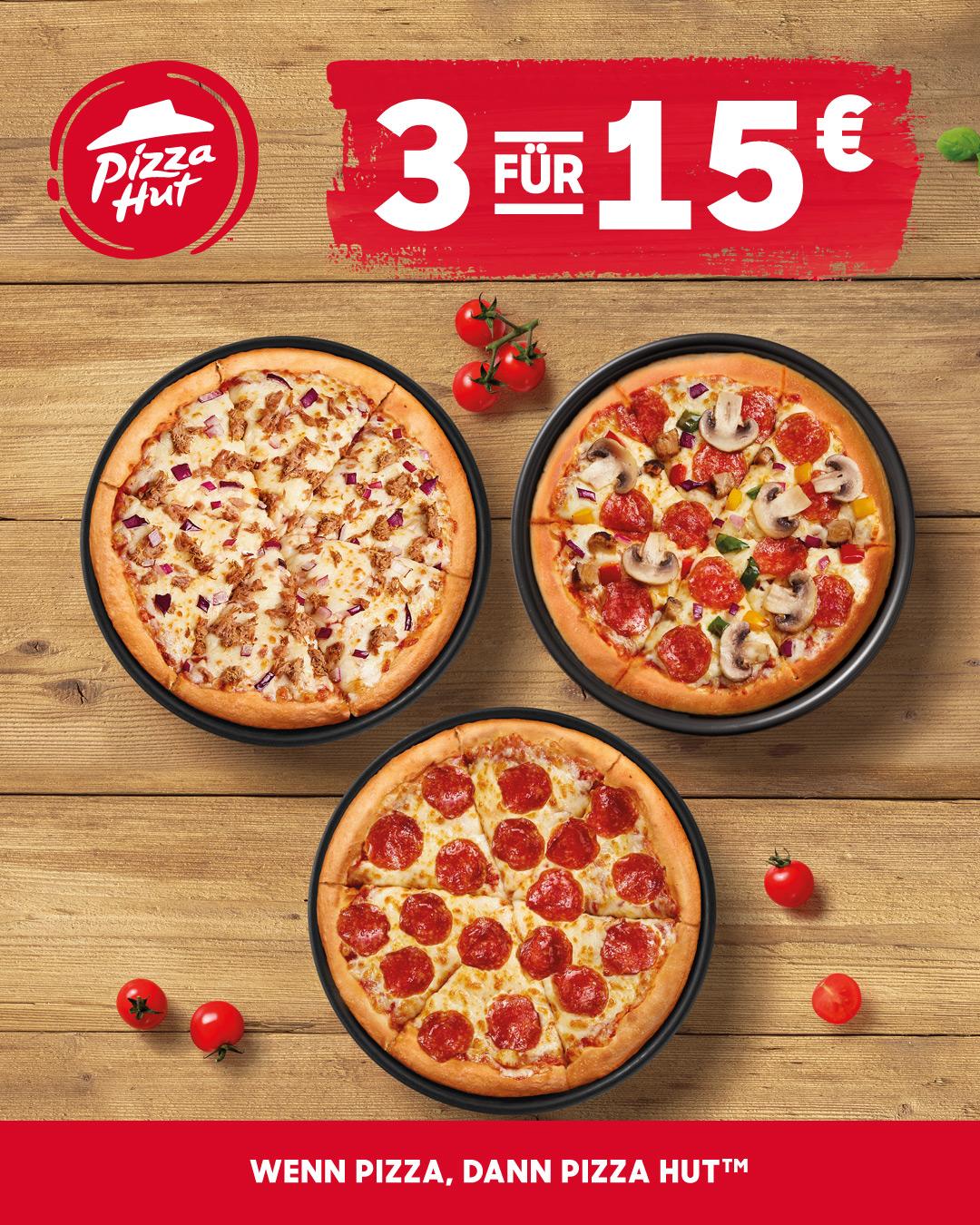Pizza Hut - Siehe Aktionen, Restaurants oder bestell Pizza